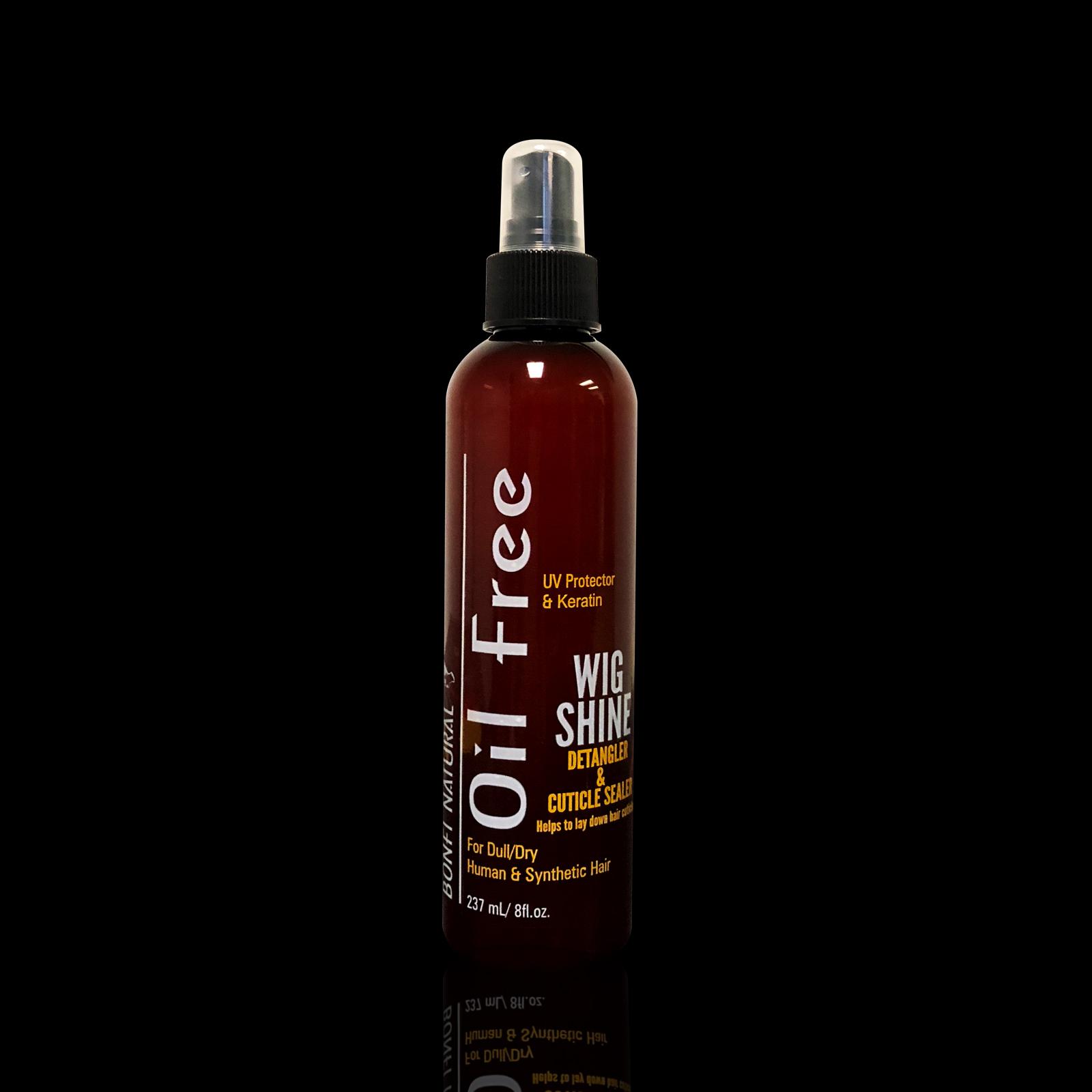 Bonfi Natural Oil Free Wig Shine™ 8oz. copy